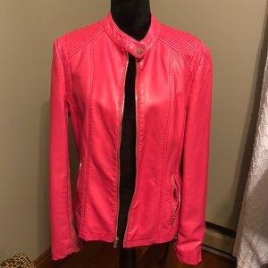 Leather (immitation) jacket